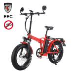 1000W EEC COC Fat 20 inch Electri bike